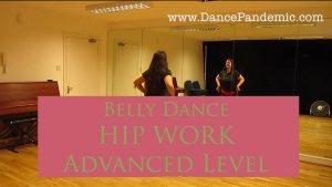 Hip work practice for bellydancers. Advanced level.