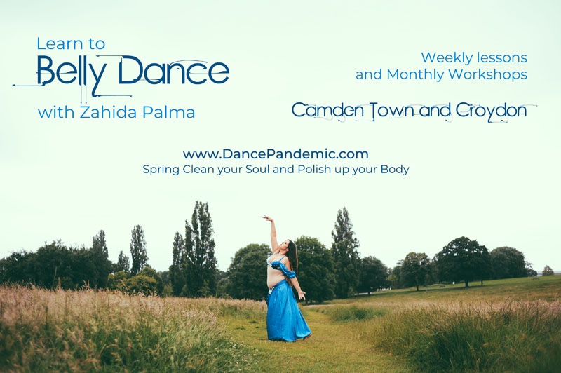 Bellydance Classes poster